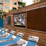 Alexan Atlanta Outdoor Pool Television Monitor