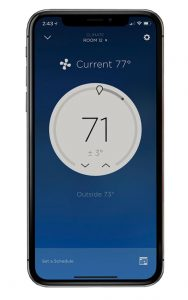 Control your climate system remotely with your smartphone.